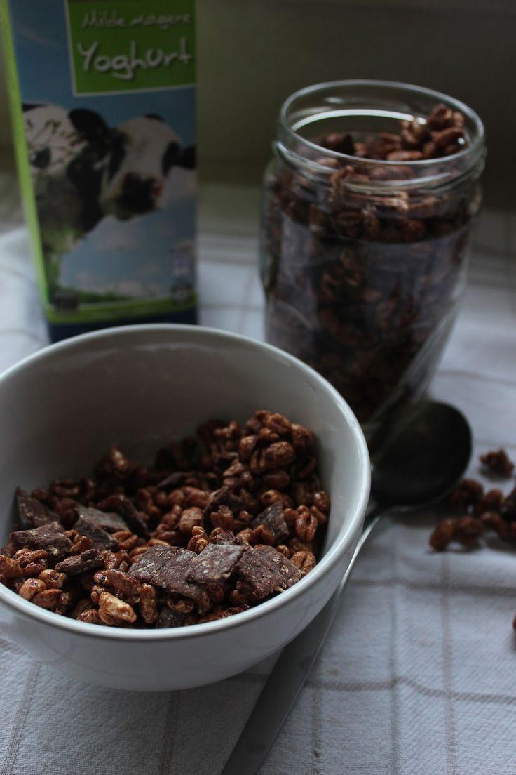 Gezondere Chocolade Ontbijtgranen | De Bakparade De Bakparade