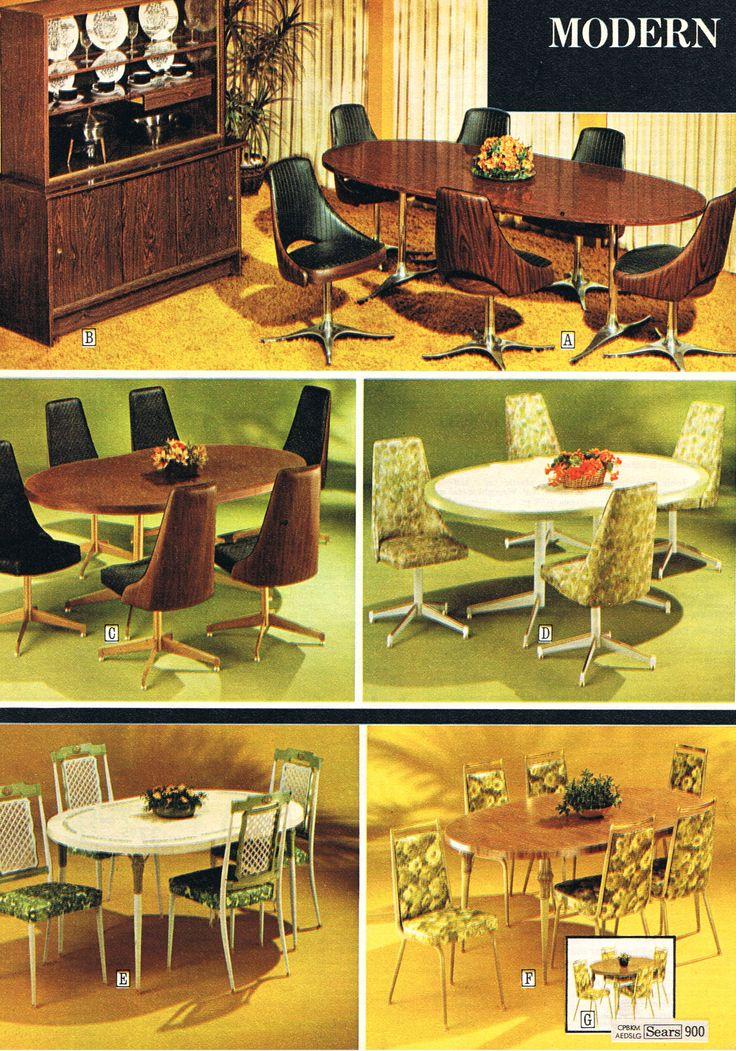 80 best chrome dinettes images on pinterest vintage for 1970 dining room set