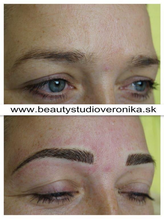 Tätowierung mit Permanent Make-ups