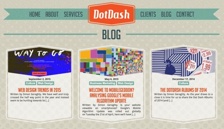 Dot Dash Blog