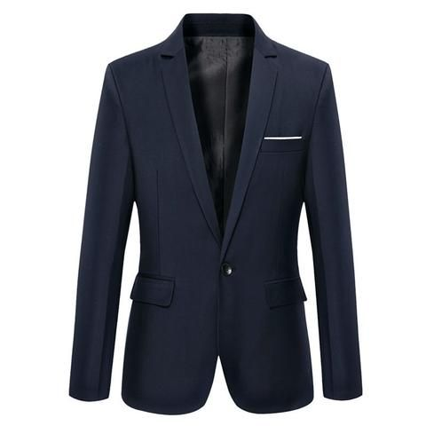 Slim jacket business style.