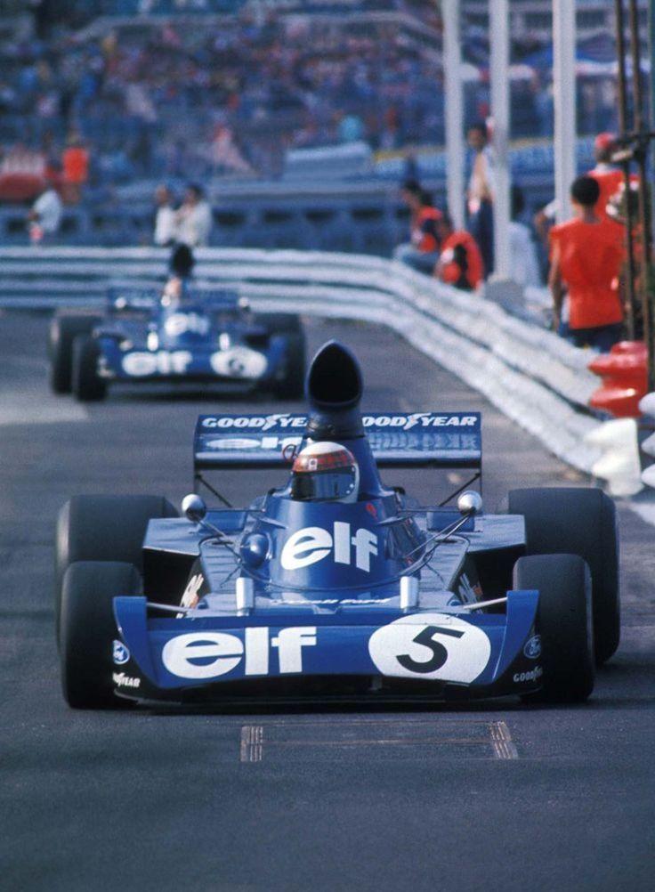 Jackie Stewart Tyrrell 006 1973