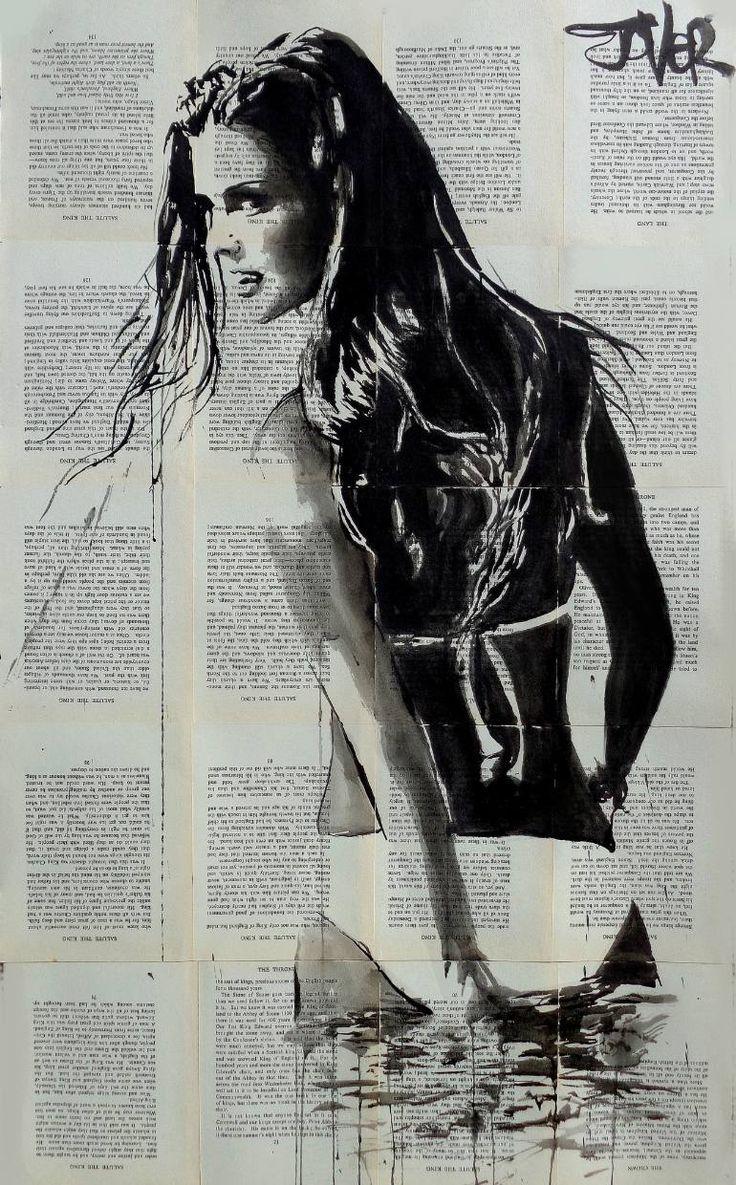 Blaze newspaper artart drawingssexy