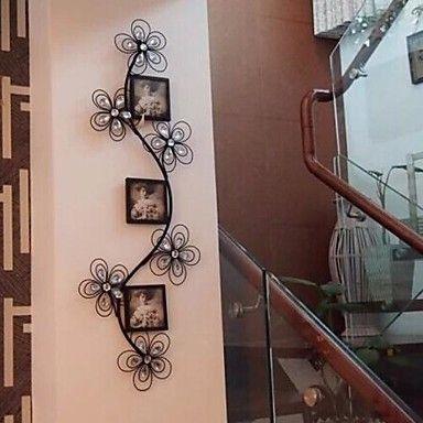 металлическая стенка искусство железа декора стен романтическая фантазия фоторамка декор стен – RUB p. 7 116,39