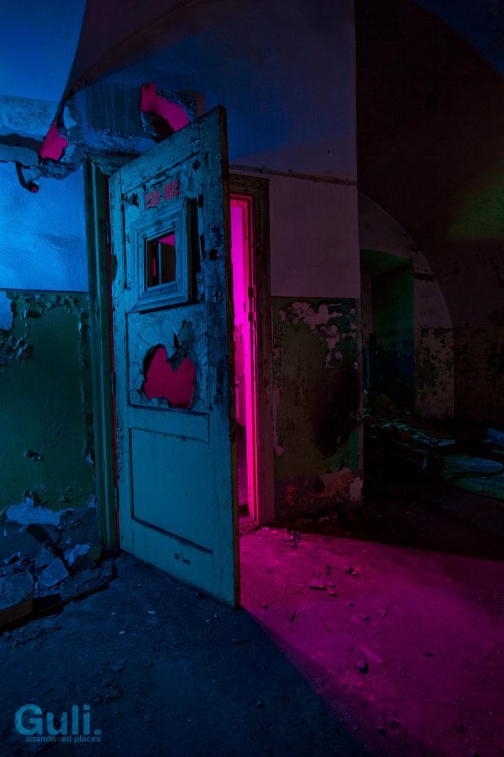 enter the void. Colour grade