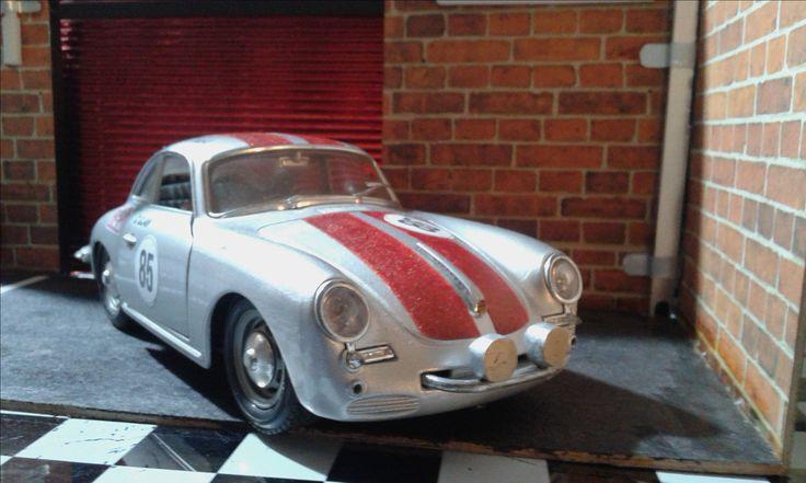Personalización Porsche 356B Rally Montecarlo!