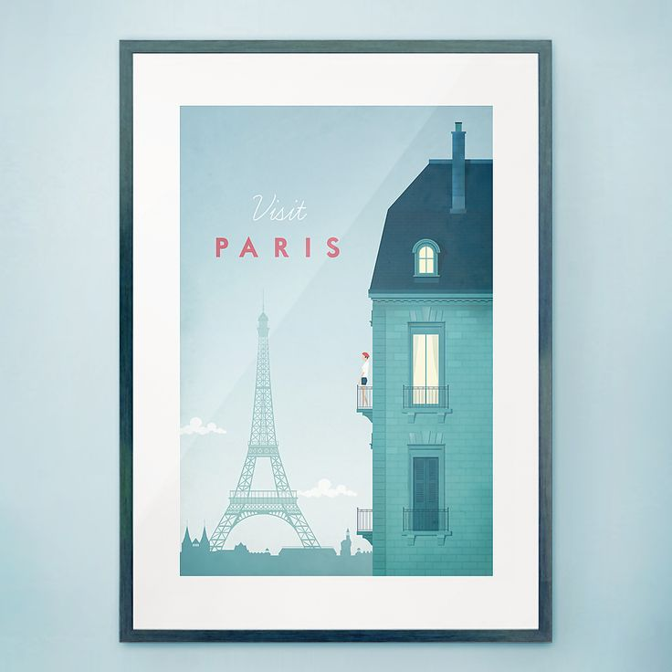 Paris by Henry Rivers - Travel Poster Co.