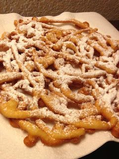 Family Recipes: Funnel Cake Goodness! I knew I saved that ketchup bottle for a reason. Wootwoot