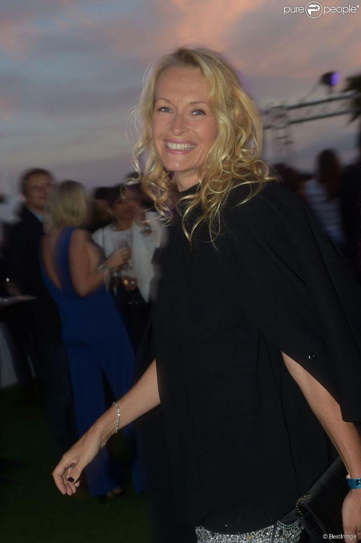 """Estelle Lefébure - Soirée au Gotha Club à Cannes pour la sortie du film """"Expendables 3"""". Le 18 mai 2014"""