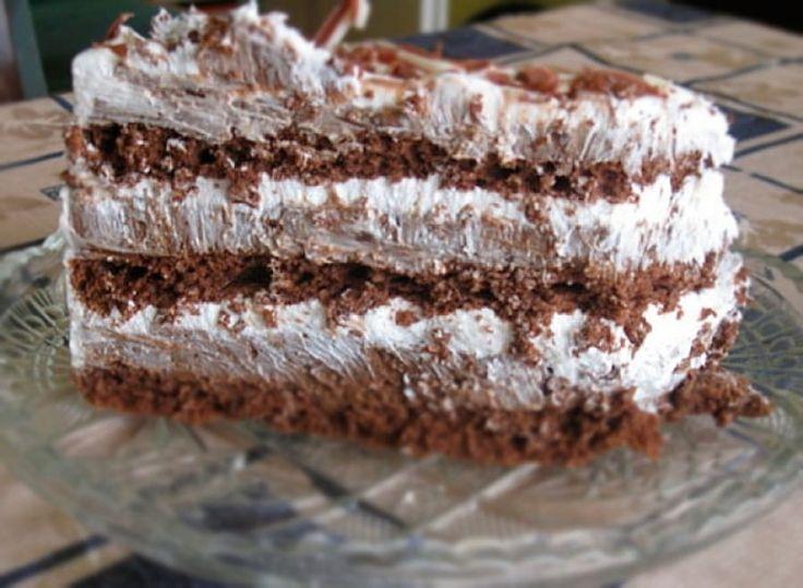 Najlepša čokoladna torta sa mlevenim keksom i pudingom od čokolade. Proverite da li je zaista najlepša!