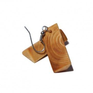 kolczyki wiszące woodenknag