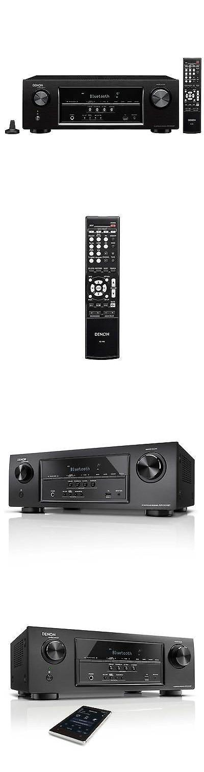 Stereo Receivers: Denon Avrs510bt 5.2-Channel Av Receiver With Bluetooth BUY IT NOW ONLY: $279.0