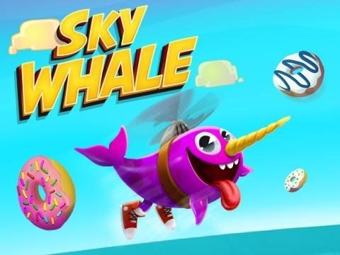 Gameplay Sky whale Android e tambem para IOS