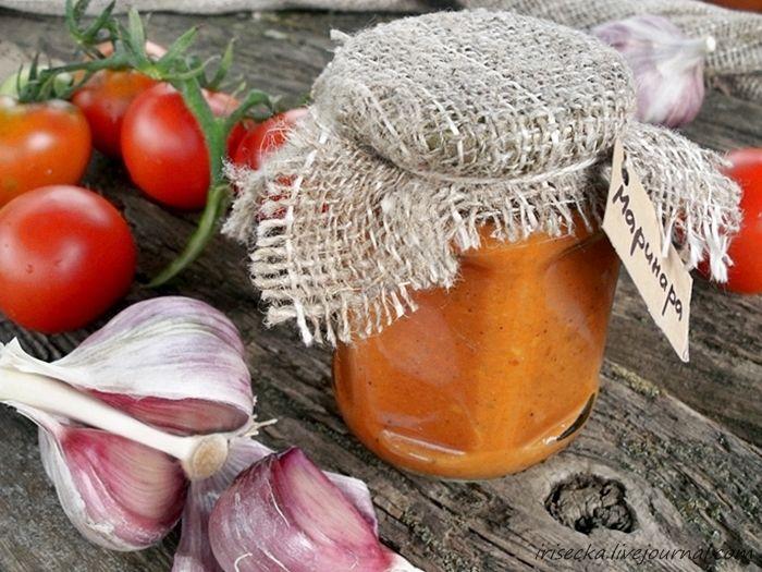Irišečka - кулинарный блокнот - соус Маринара из запеченых помидоров