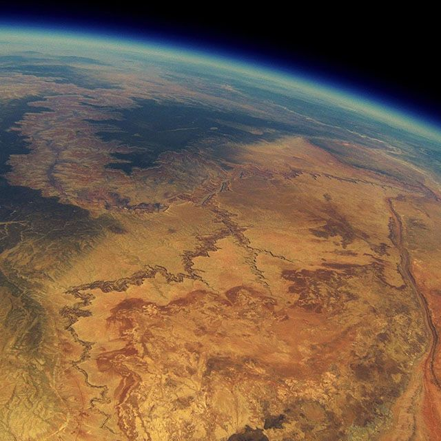 Lost Weather Balloon GoPro Found 2 Years Later with Grand Canyon 'Money Shot'
