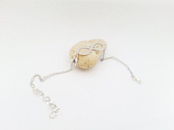 Custom order sterling silver bracelets with by MKedraWedding