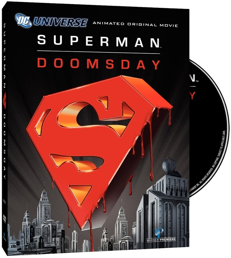 Dc Comics Superman Doomsday - Free Shipping