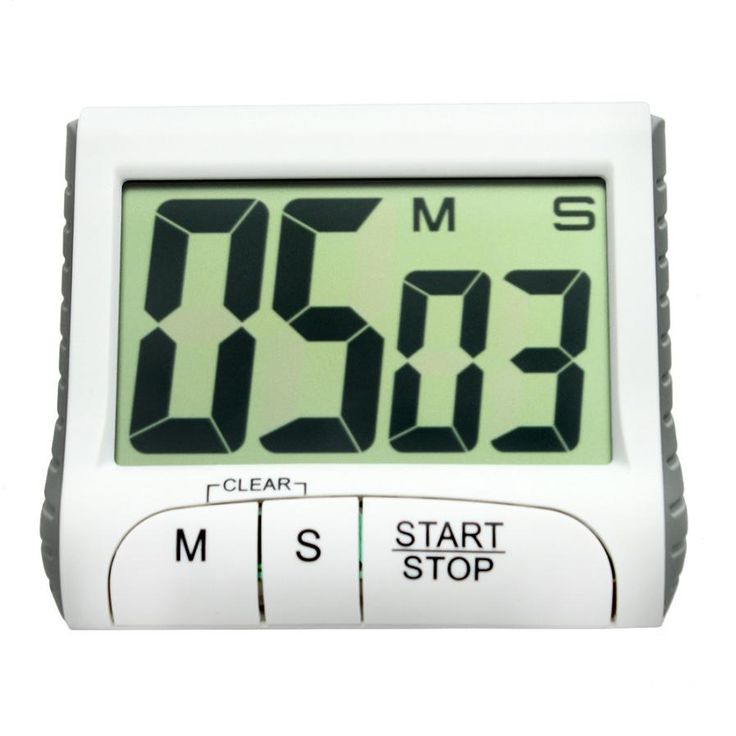 Portable Digital Countdown Timer Clock Large LCD Screen Alarm for Kitchen Cook Wonderful3.20/20%