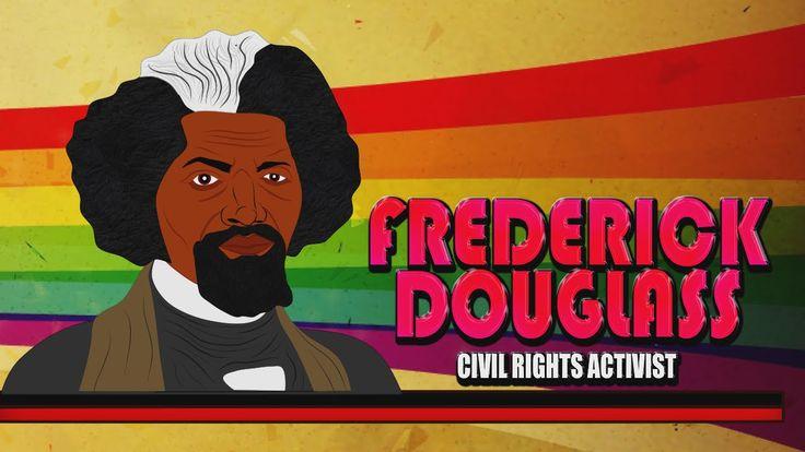 Frederick Douglass for Kids(Cartoon Biography) Educational Videos for St...