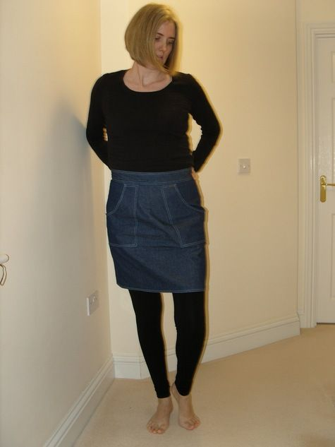 Thank you Denim Skirts, looks lovely with the leggings too.  Get the PDF Sewing Patterns http://angelakane.com/sewing_patterns/patterns/pencil-skirt-sewing-pattern-483.php http://angelakane.com/sewing_patterns/patterns/leggings-sewing-pattern-936.php