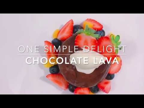 "OneSimpleDelight ""Chocolate Lava"""