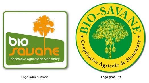 Création Logotype. Coopérative Agricole de Sinnamary. 2010.