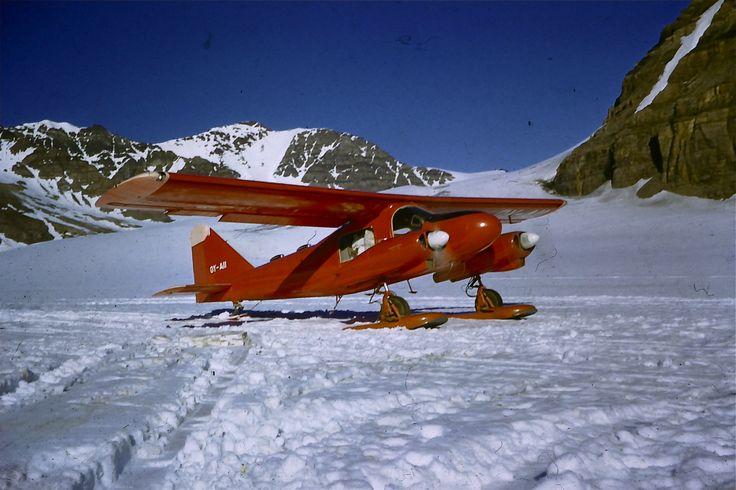 Ski plane, Malmbjerget