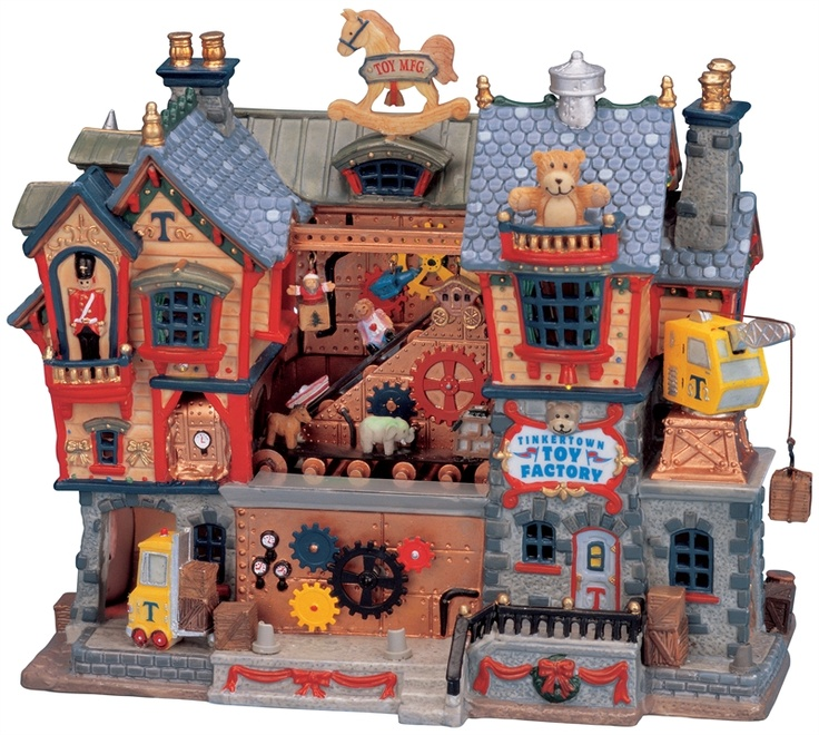 Toy Christmas Village