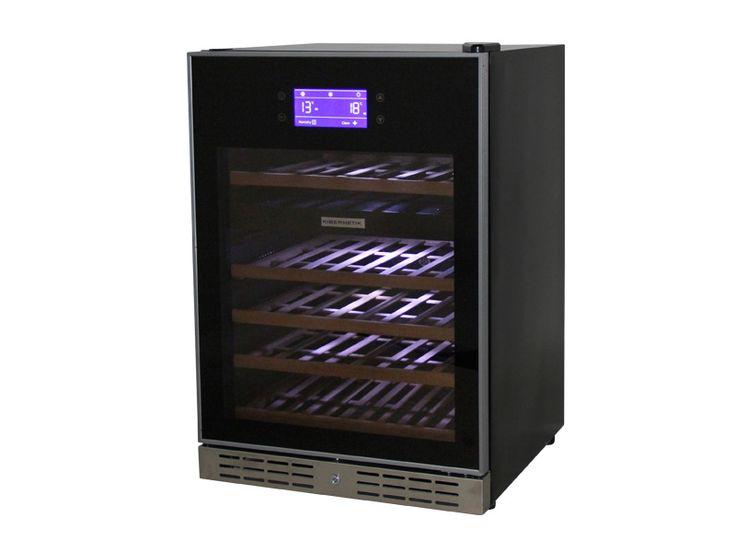Weinklimaschrank 46 Flaschen Vollglasrahmen Deluxe - Frankenspalter Est.