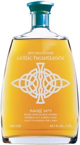 Celtic Heartlands Series:  BANFF 1975 33 year old  Speyside Single Malt Whisky 700ml 48.1%