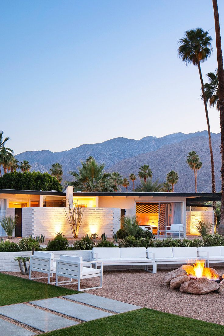 Long term rentals in palm springs ca - L Horizon Palm Springs California There S A Fire Pit Bike Rentals