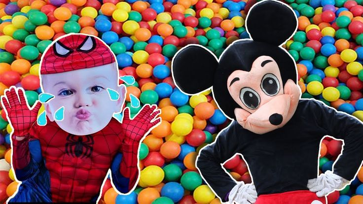 Mickey Mouse & Minnie Mouse New Episodes! Spiderman & Balls! Minnie Mous...