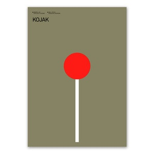 Kojak Print now featured on Fab.