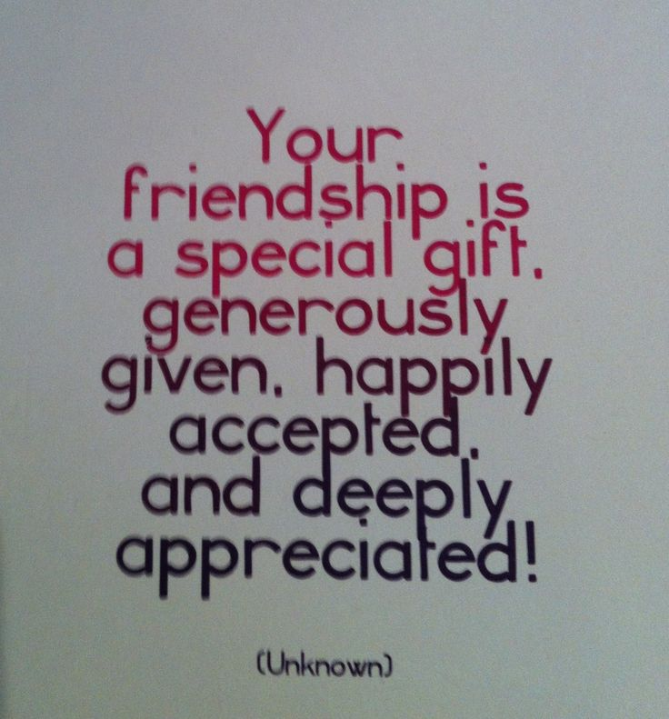 A Good Friend Quote: Thanks To All My Friends For Being You!