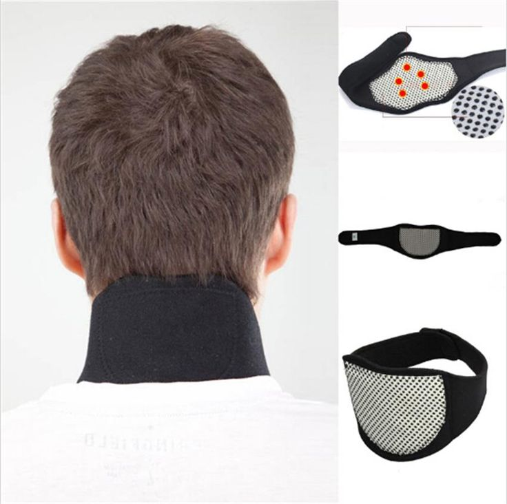 Low Price Tourmaline MagneticTherapy Neck Massager Healthy Soft Black Spontaneous Heating Headache Neck Massager Guard Protector