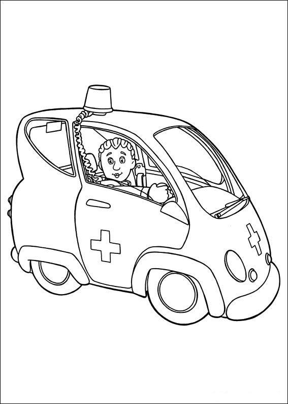 16 best Sam images on Pinterest  Colouring pages Fireman sam and