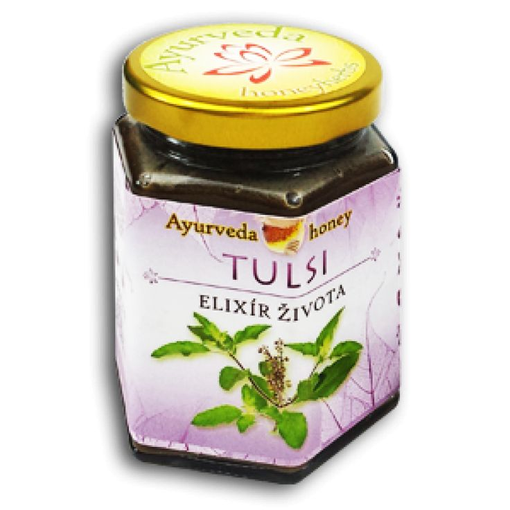 Tulsi Honey 190ml v skle