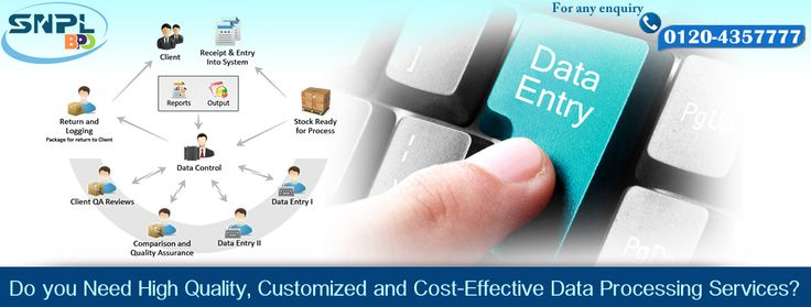 Do you need high quality, Customized and cost-Effective #data processing services?