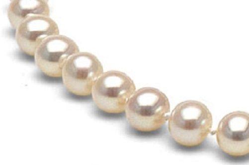 9-10 mm AA Natural White Freshwater Pearl Loose Strand 47 Beads  Jewelry Making #Handmade #LOOSEBEADSTRAND