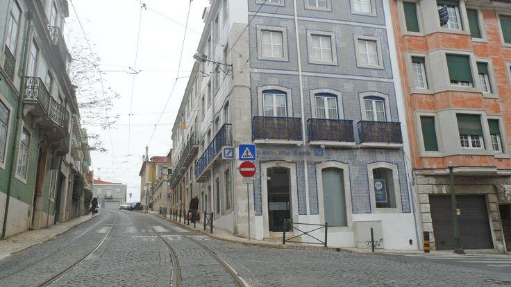 Promotor Banco Deutsche Bank na Lapa em Lisboa, Portugal