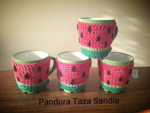 Love Sandía :) Pandora Accesorios Artesanales