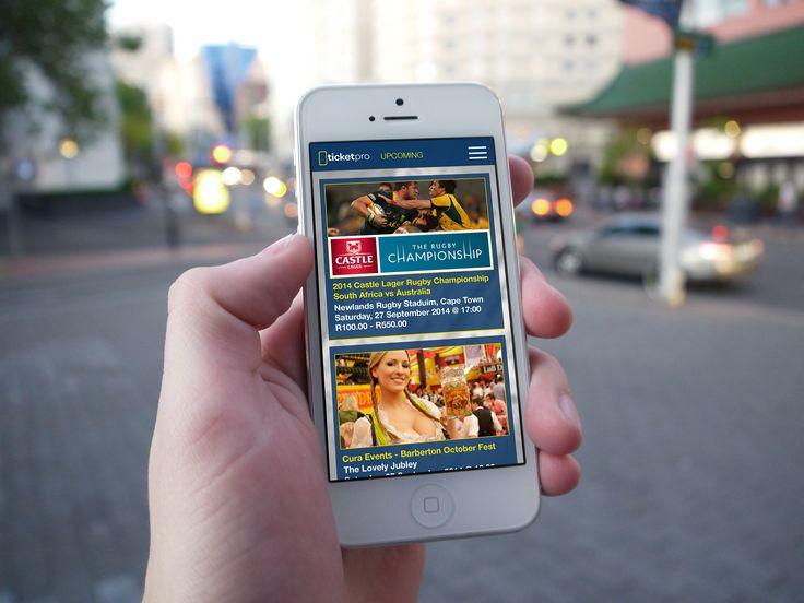 Ticket Pro - Design Concept, Mobile App, Mobile UX, Mobile UI, Loading screen