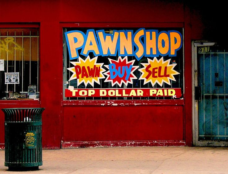 pawnshops A pawnbroker is an individual or business (pawnshop or pawn shop) that offers secured loans to people, with items of personal property used as collateralthe items having been pawned to the broker are themselves called pledges or pawns, or simply the collateral.
