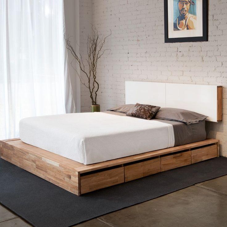 MASHstudios // LAXseries Storage Platform Bed