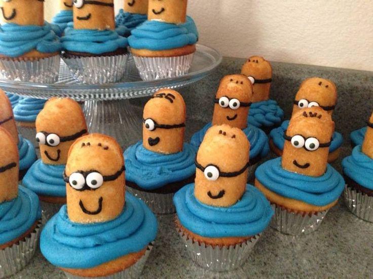 Despicable me cupcakes ;) so cute!!