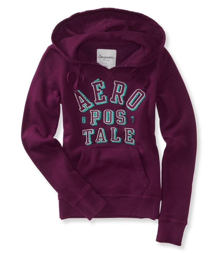 aeropostale hoodies | Details about aeropostale womens arched logo popover hoodie