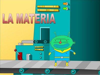 La Misión Azul: La materia y los materiales