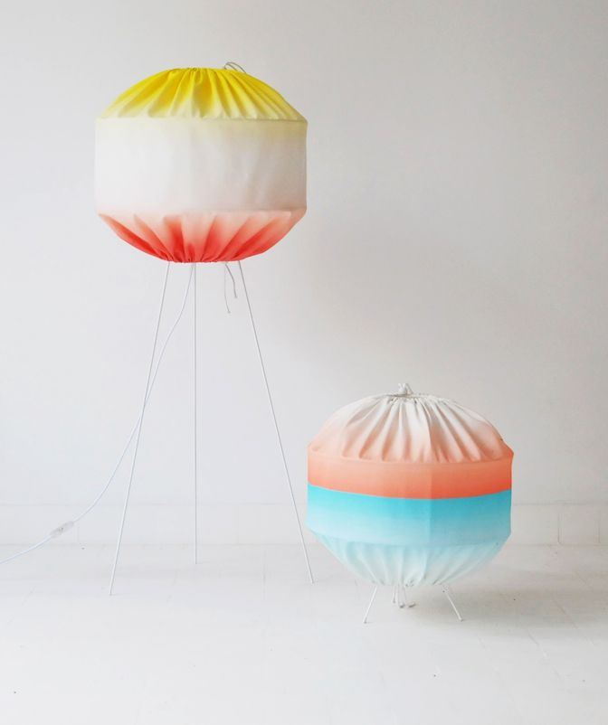 Diabolo lamp by Colonel, verypeculiar.