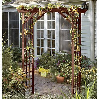 Garden Arbor from Through the Country Door® & Outdoor Oasis by Country Door: a collection of Home decor ideas to ... Pezcame.Com