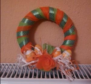Easter wreath - πασχαλιάτικο στεφάνι